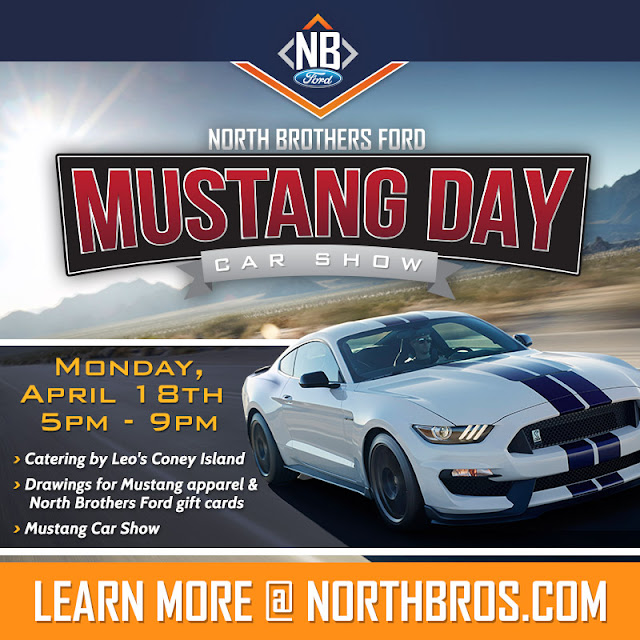 Mustang Day at North Brothers Ford in Westland, MI