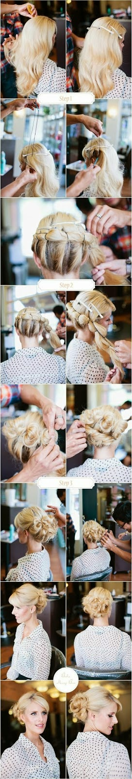 5 Easy Messy Buns For Long Hair Tutorial}