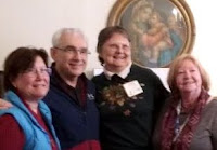 Servant Leaders Mary & Bob Stronach, Marsha Kistner and Katie Koscinski