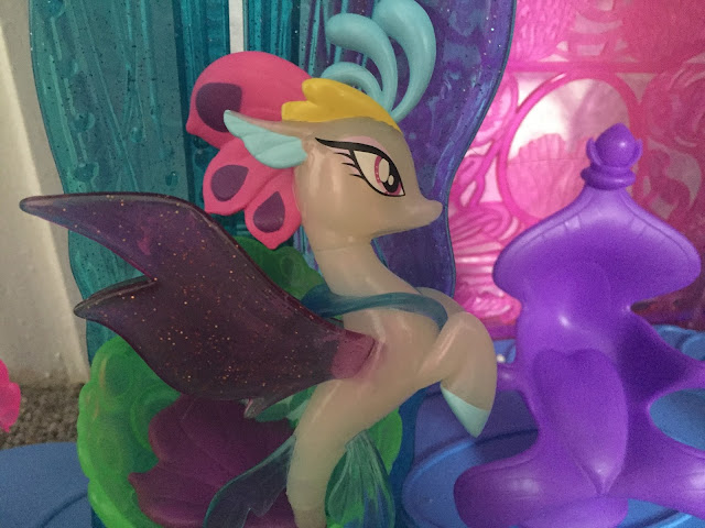 My Little Pony Queen Nova in her castle