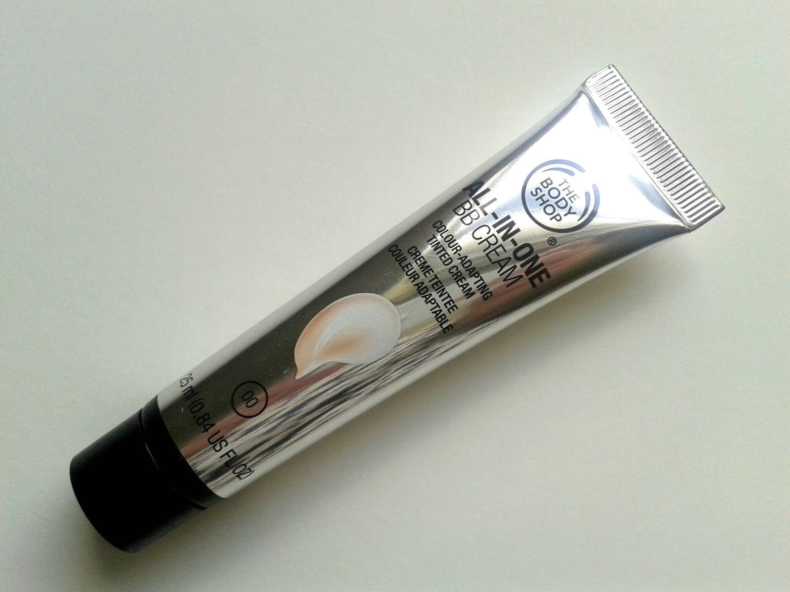 The Body Shop All In One BB Cream Beauty Review 00 Shade