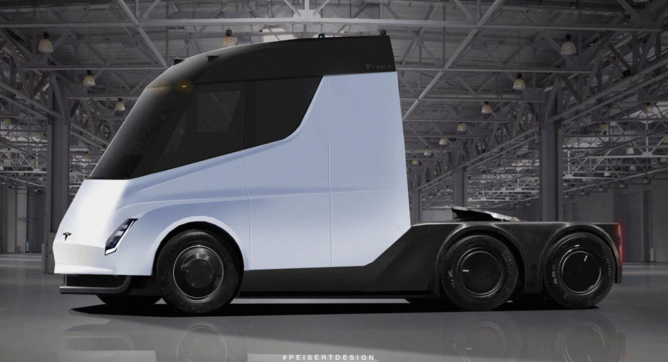 New Tesla Semi Truck Rendered Into Reality – AutoScoops.NL