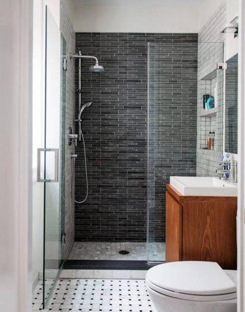 tips menata kamar mandi sederhana simple