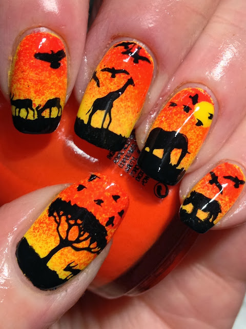 Canadian Nail Fanatic: Out Of Africa