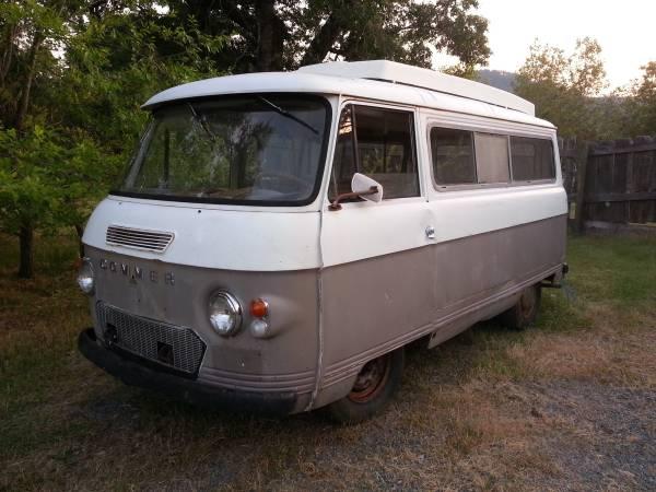 used rvs 1970 commer pop top camper project for sale by owner. Black Bedroom Furniture Sets. Home Design Ideas