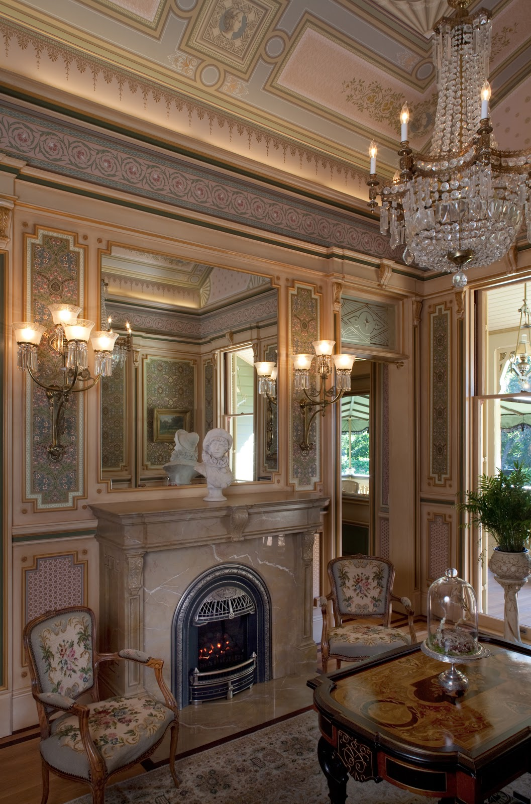 Rooms: Rynerson OBrien Architecture, Inc.: The McDonald Mansion's