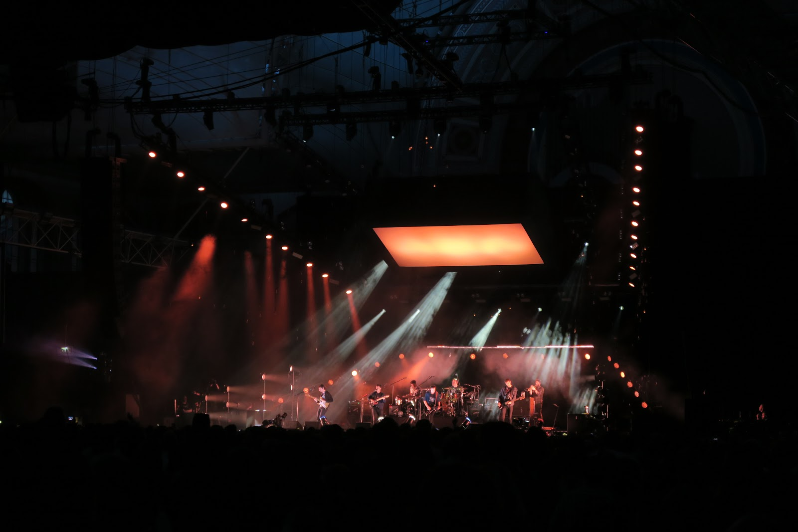 The Maccabees playing at Alexandra Palace