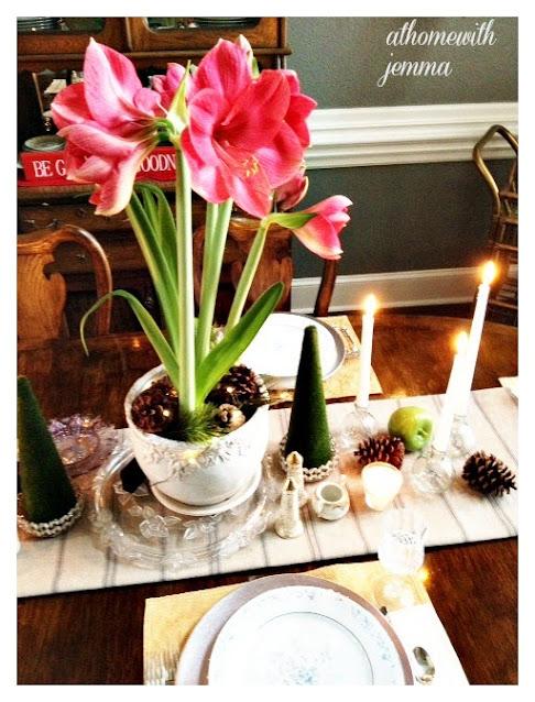centerpiece-amaryllis-new-years-day-texas-homemaking