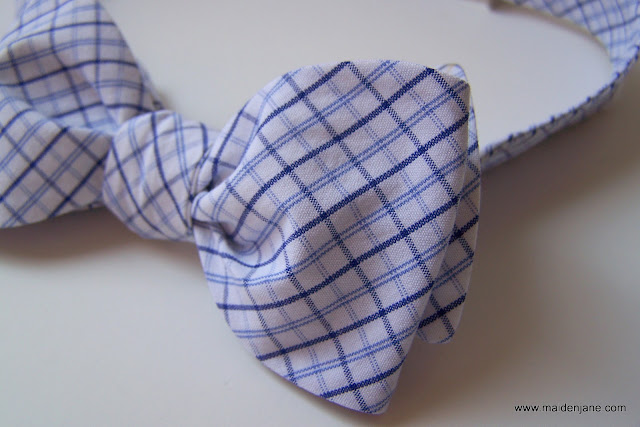 Wednesday Sewing – an Upcycled Bow Tie
