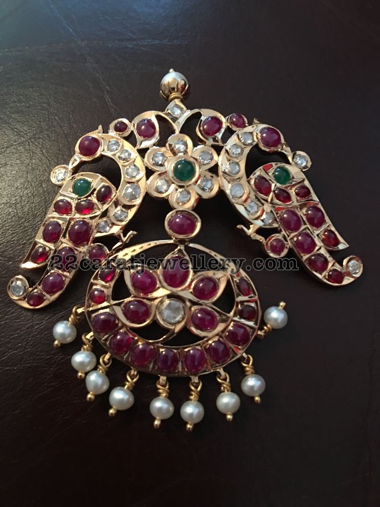 Burmese Rubies Pendant Sets Jewellery Designs