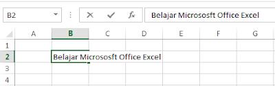 Pemahaman Dasar Penggunaan Aplikasi Microsoft Excel bagi pemula Part 3