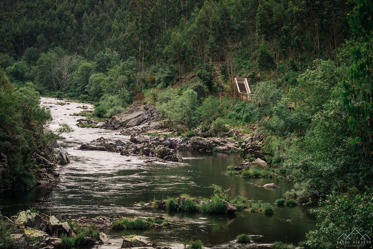 O rio Paiva e os passadiços