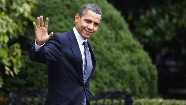 Image result for Preisdent Obama waves goodbye