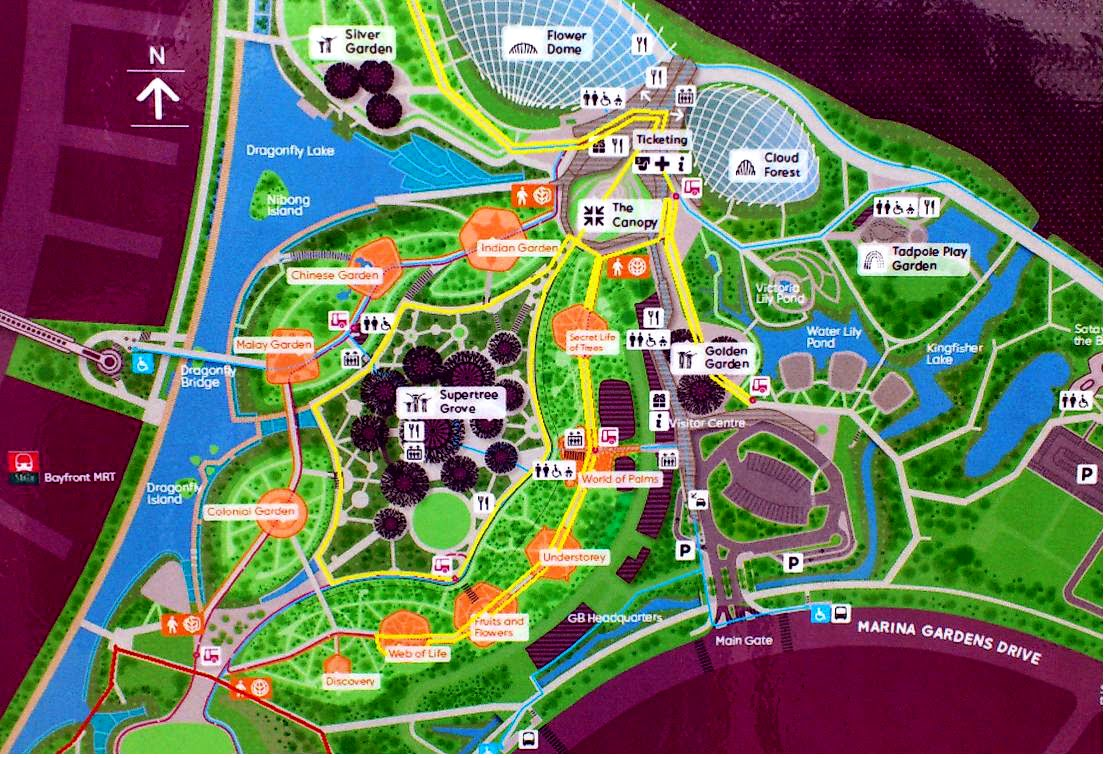 White Hat Architecture Gardens By The Bay Master Plan First Part