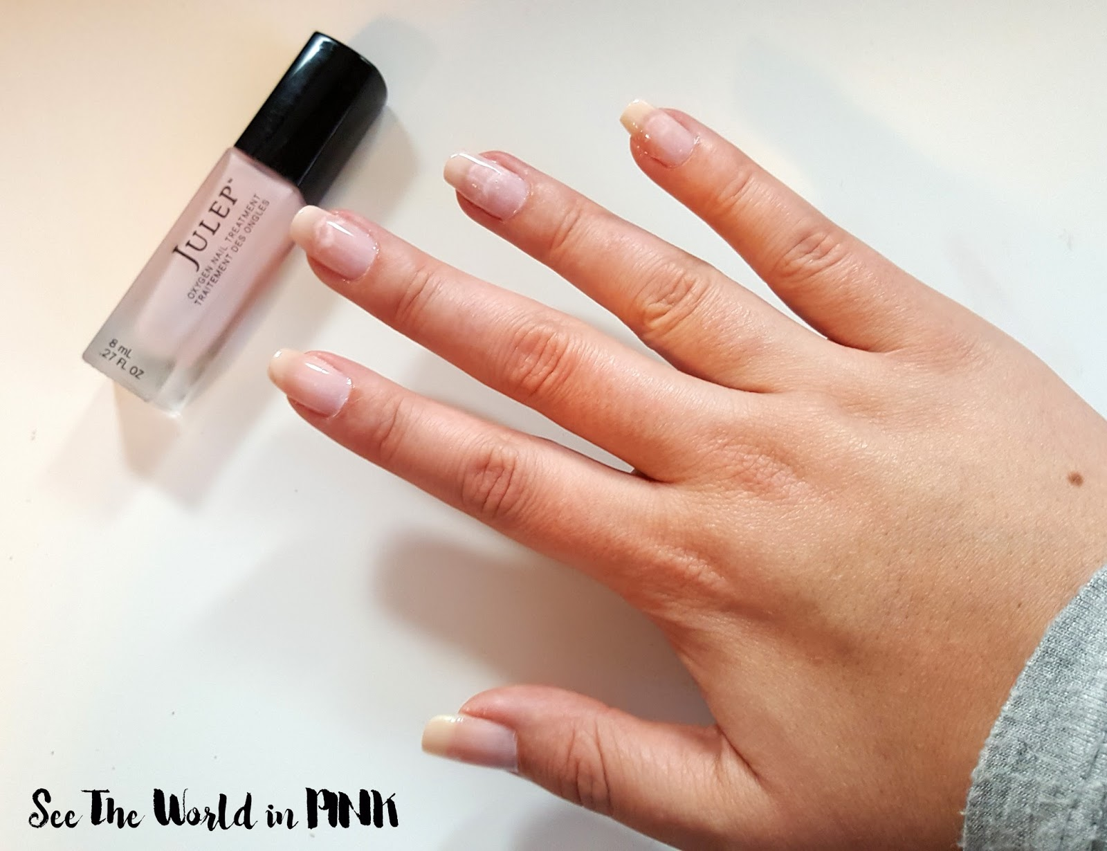 Manicure Tuesday - Julep Oxygen Nail Treatment