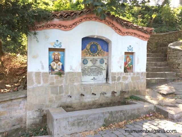 Monasterio de Bachkovo fuente Bulgaria