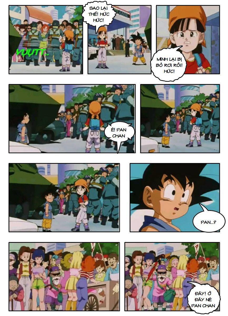 Dragon Ball GT chap 3 - Trang 14
