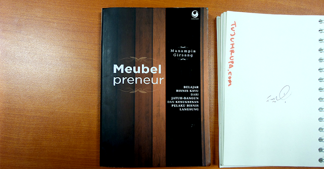 Review Buku Meubelpreneur: Start Your Move With Passion, Love and Focus