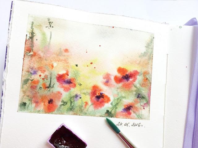 Sketchbuk akvarel maki | Inna Yakusheva's blog