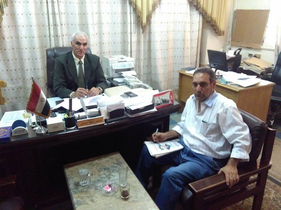 السيد حافظ الباجى وتشديد الرقابه التموينيه