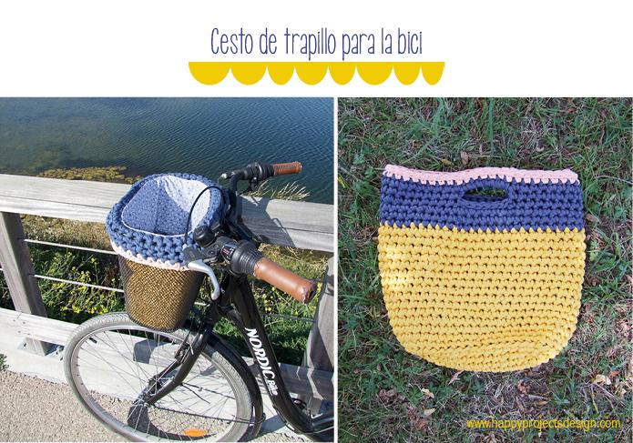 DIY: Cesto de trapillo para la bici