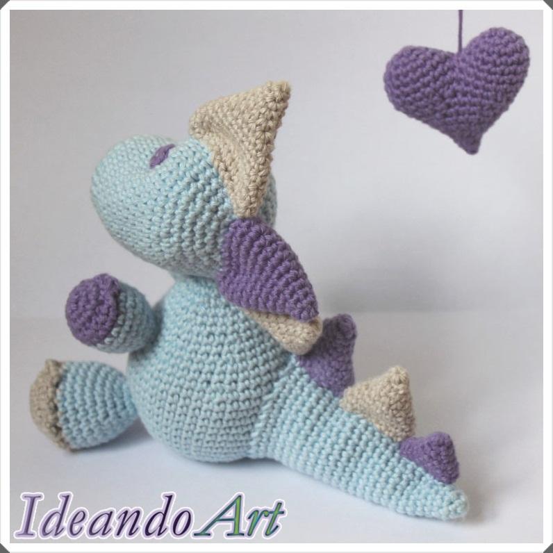 Dragón crochet