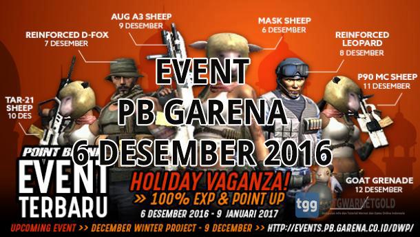 Event PB Garena 6 Desember 2016 - Maulid Nabi
