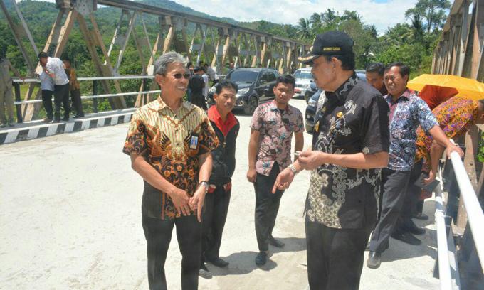 Pembangunan Jembatan Bulupoddo Senilai 5 Miliar Rampung