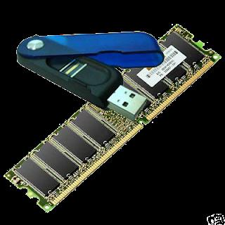 Menambah kapasitas RAM dengan Flash disk
