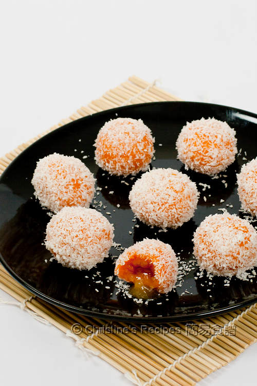 Sweet Potato Glutinous Rice Balls01