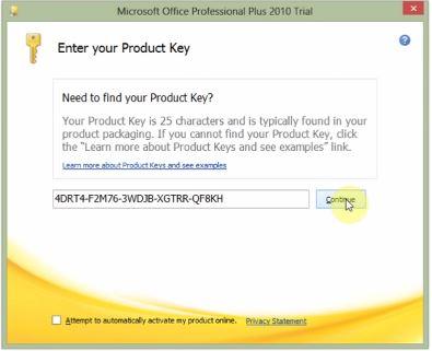 Hướng dẫn cài đặt và crack Microsoft Office 2010