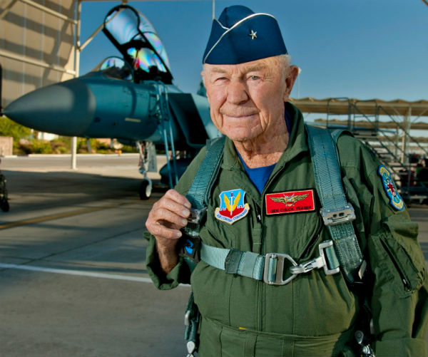 Aviation Pioneer Chuck Yeager
