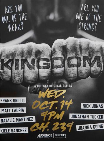 Kingdom season 2 poster DirecTV 2015 Kingdom 2ª Temporada