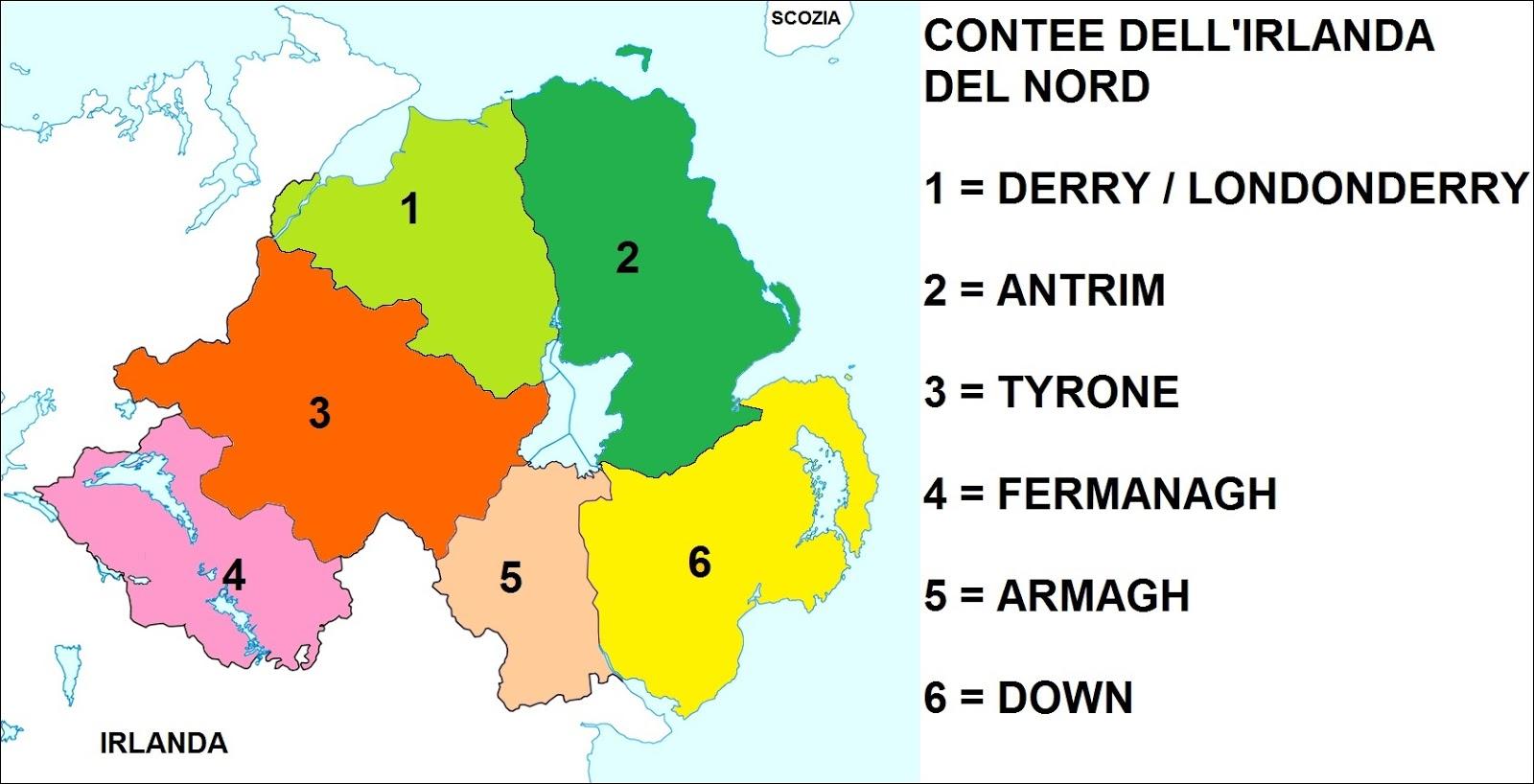 Irlanda Del Nord Cartina.Chi Viaggia Impara Immagini Dal Mondo Regno Unito Irlanda Del Nord