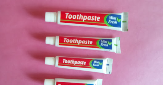 Toothpaste in Tubes