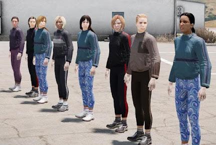 Arma3の女性ユニット アドオン