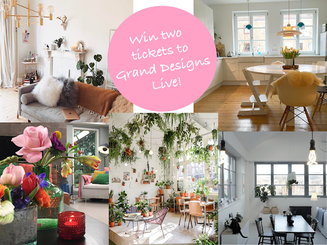 kirstie pickering competition grand designs live london excel centre clc world resorts win tickets blog lbogger interiors inspo inspiration instagram scandinavian plants artisan bulbs flowers floral west elm
