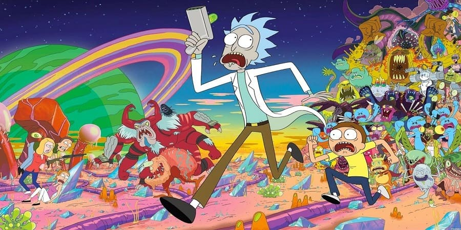 Desenho Rick e Morty - 2ª Temporada Dublado para download via torrent
