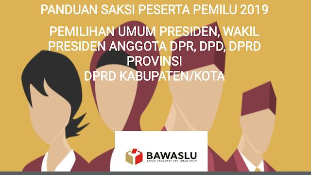 PPT Pelatihan Saksi Peserta Pemilu 2019