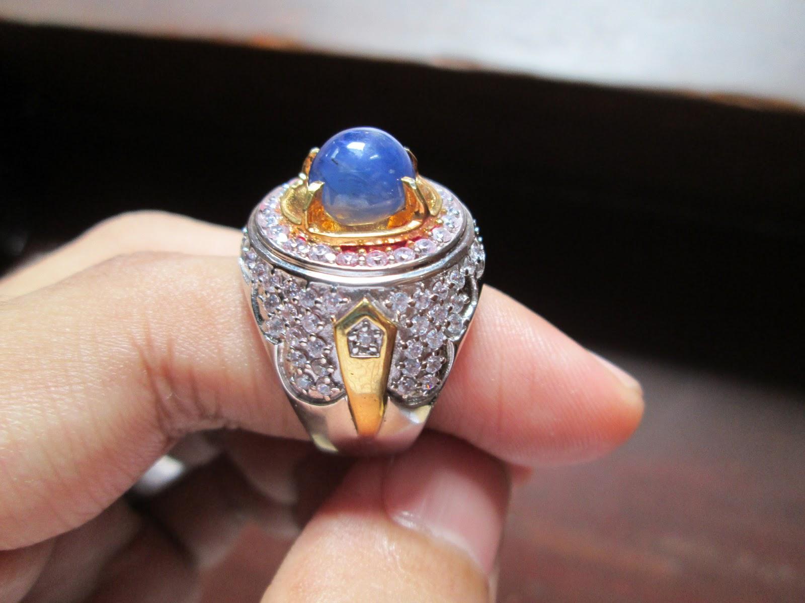 TOKO BATU PERMATA: Natural Blue Safir Ceylon