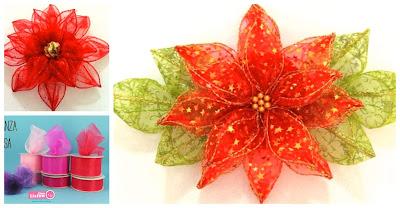 flores-listón-navidad