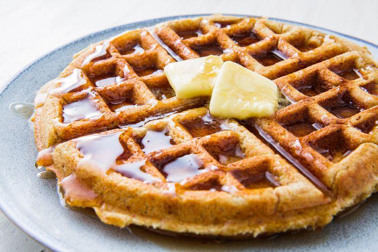 Almond Flour Keto Waffles
