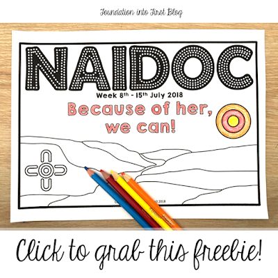 NAIDOC Week 2018. Because of her, we can! Celebrate NAIDOC Week with these fantastic ideas you can use in your classroom today, Perfect for students in early primary and assist in their understanding of HASS subjects such as History and Geography.