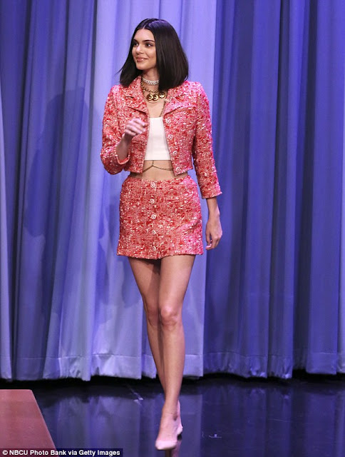 Kendall Jenner Style Chanel Tweed
