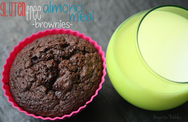 Gluten Free Almond Meal Brownies