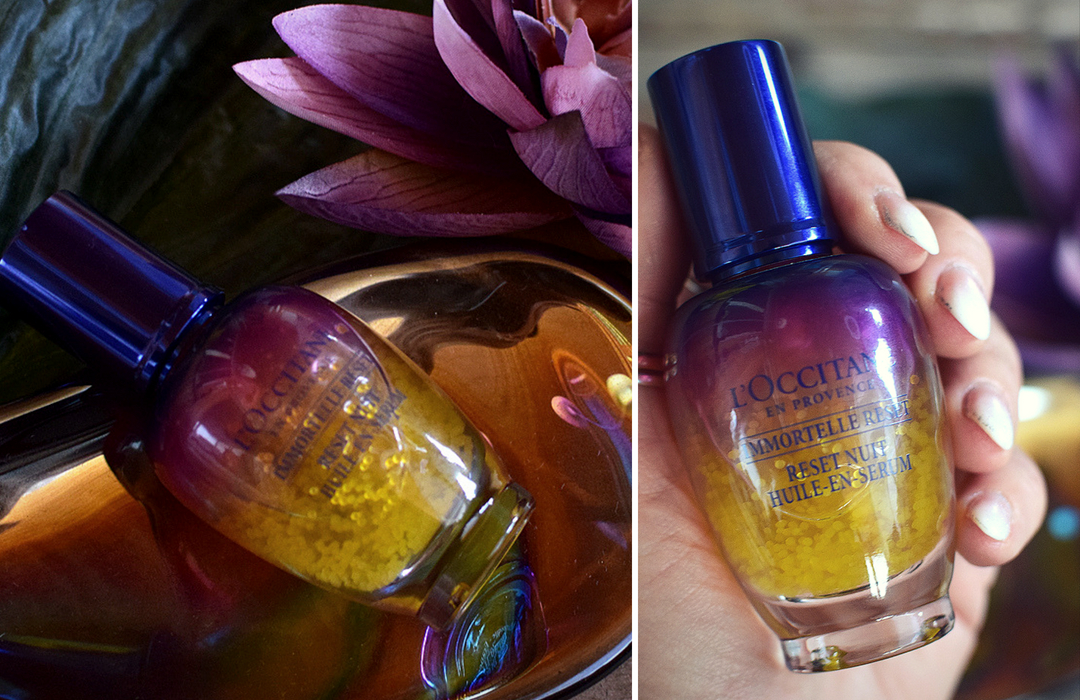 Review zu L'Occitane Immortelle Overnight Reset Öl in Serum