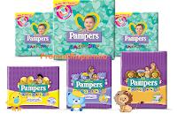 Logo Concorso Pampers e vinci ogni giorno 5 Gift card da 100 euro