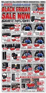 2001 Audio Video Flyer Canada November 16 - 22, 2018 Black Friday