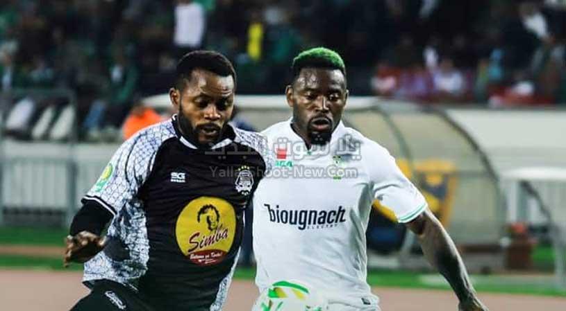 الرجاء يتغلب على فريق مازيمبي بثنائية ويقترب من نصف نهائي دوري أبطال أفريقيا
