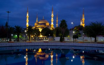 Wallpaper: Blue Mosque
